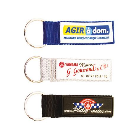 Porte-clés publicitaire - Strap nylon