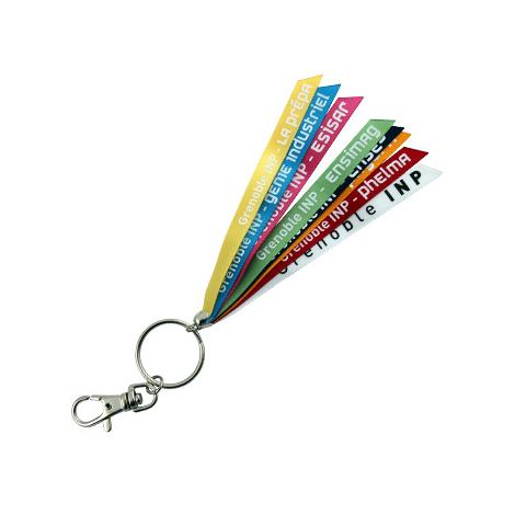 Porte-clés Ruban publicitaire