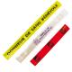 Bracelet fluo rétro réfléchissant et publicitaire