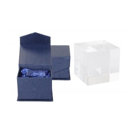 Cube en verre personnalisable - TAMPA