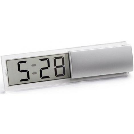 Horloge avec alarme publicitaire