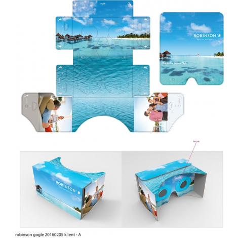 Lunettes VR promotionnelles