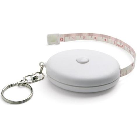 Porte-clés avec ruban à mesurer