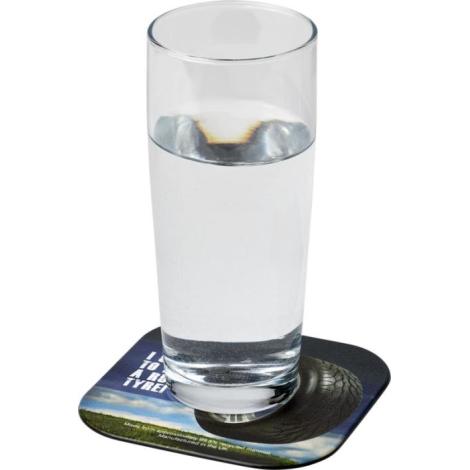 Sous-verre personnalisé en pneu recyclé