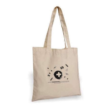 Tote bag publicitaire coton 160 g - MADURAI