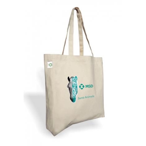 Tote bag personnalisable coton bio 160 gr - BANDA