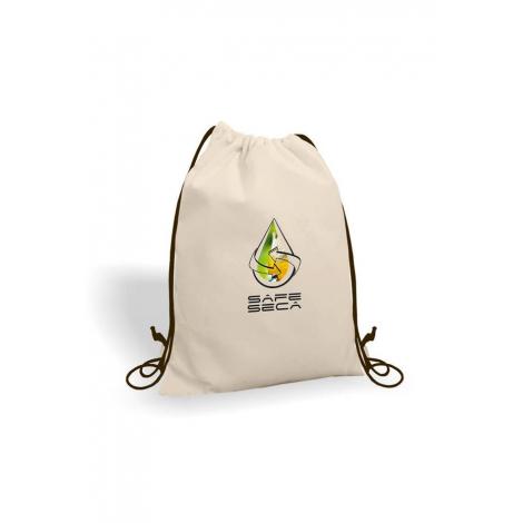 Gym bag publicitaire en coton 160 gr - GAYA