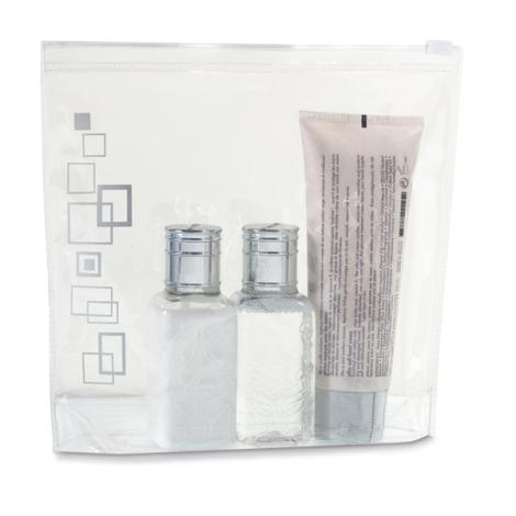 Trousse de toilette hermétique en PVC