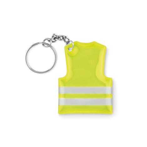 Porte clés publicitaire gilet de sécurité - VISIBLE RING