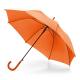 Parapluie avec poignée finition caoutchoutée