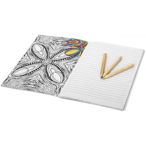 Carnet de notes et coloriage personnalisé - DOODLE