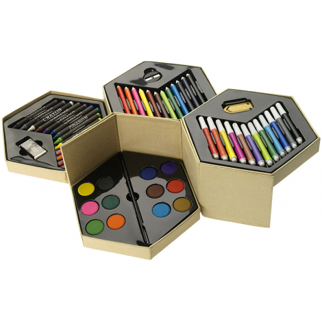 Set de coloriage publicitaire de 52 pièces