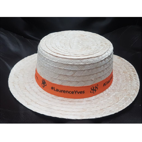 Chapeau canotier Excelent personnalisable