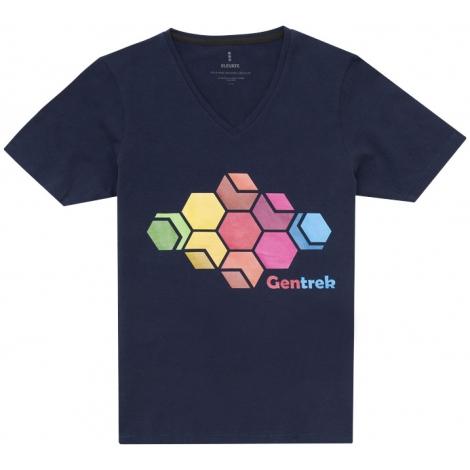 T-shirt bio publicitaire - manches courtes pour femmes - KAWARTHA