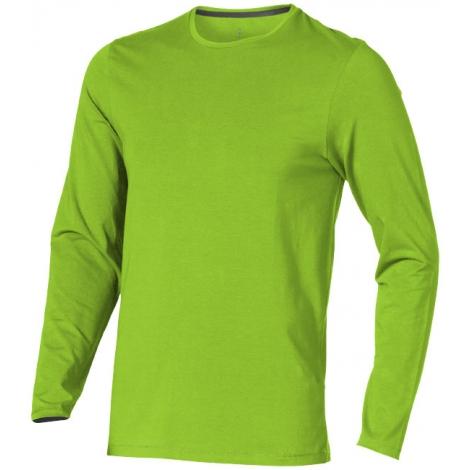 T-shirt bio publicitaire -manches longues - hommes - PONOKA
