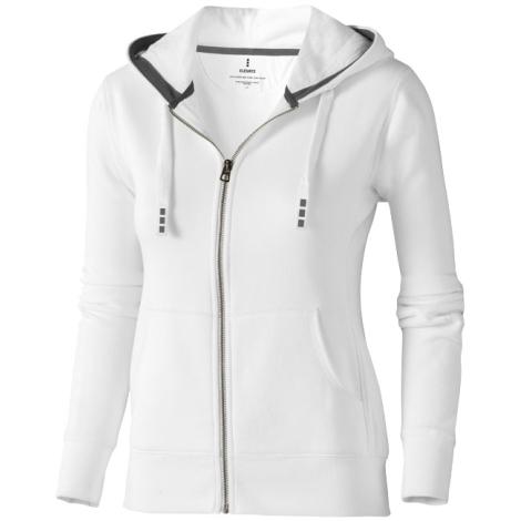 Sweater publicitaire - capuche full zip - femme - ARORA