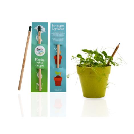 Crayon publicitaire à planter Sprout