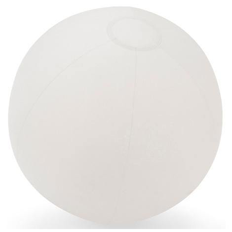Ballon gonflable publicitaire blanc
