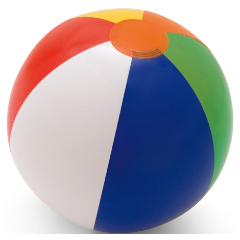 Ballon gonflable personnalisable colore