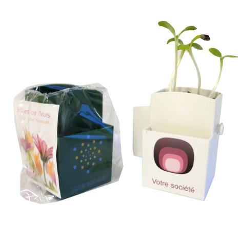 La végétal-box kit publicitaire