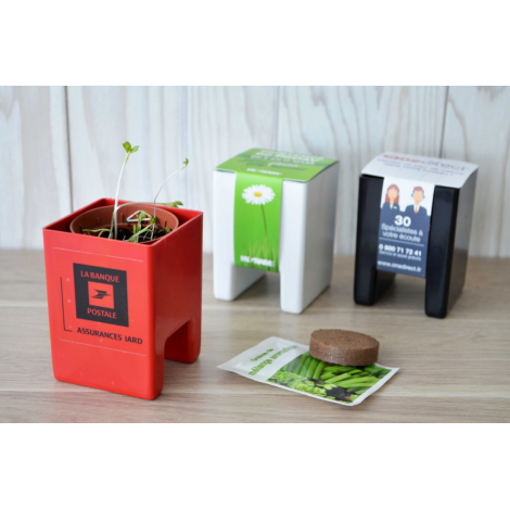 Kit de plantation - le pot Ordi personnalisable.