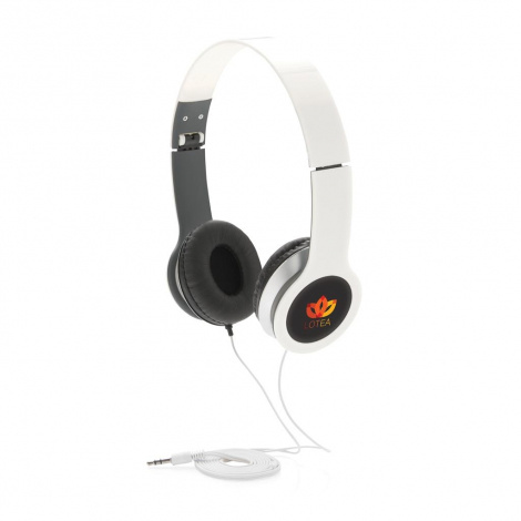 Casque audio pliable et promotionnel