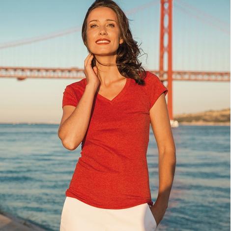 T-shirt publicitaire pour femme - ATHENS