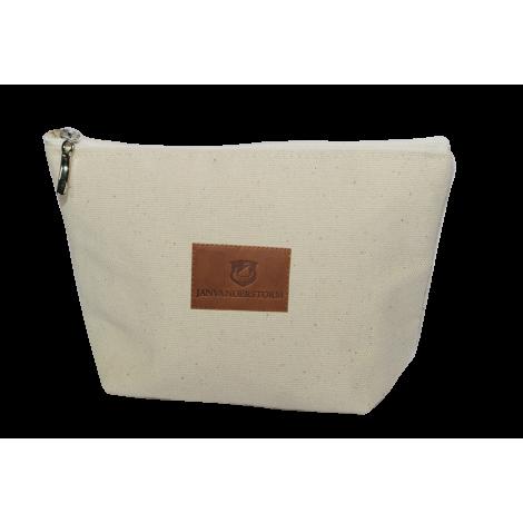 Trousse en coton premium 240 g avec jacron personnalisable