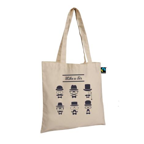 Tote bag personnalisé en coton fairtrade 160 gr - BARELI
