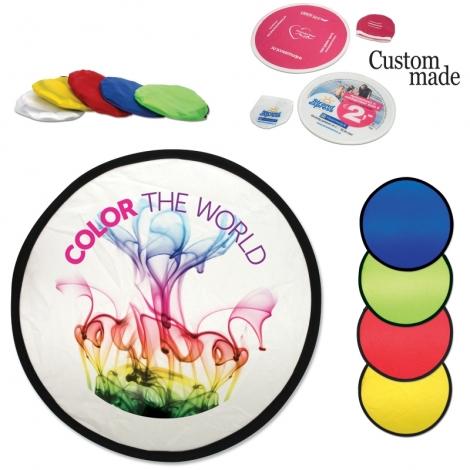 Frisbee publicitaire pliable