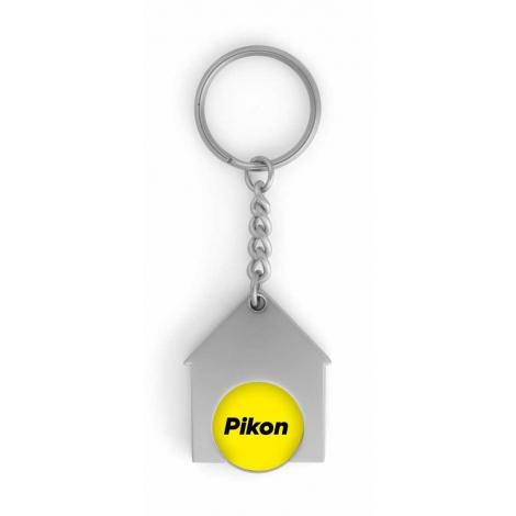 Porte-clés jeton Maison