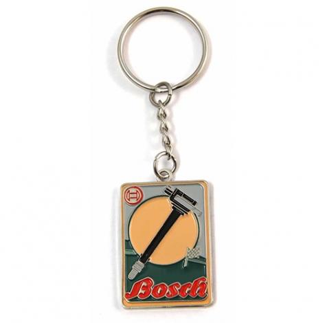Porte-clés publicitaire sur-mesure en zamac