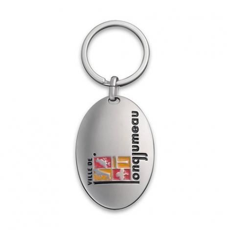 Porte-clés publicitaire - Curving