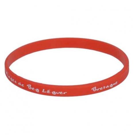 Bracelet en silicone fin