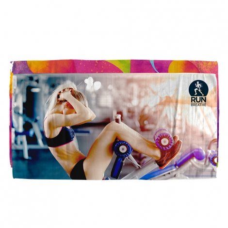 Serviette promotionnelle en sublimation