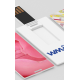 Clés USB color card small publicitaire
