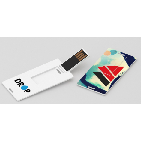 Clés USB color card small publicitaire