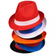 Chapeau personnalisable Trilby polyester