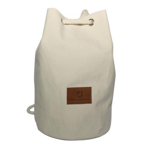 Sac à dos en coton 240 g avec jacron personnalisable