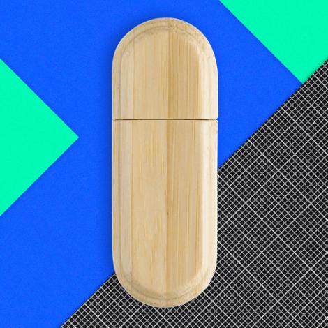 Clé USB personnalisable en bois Limb