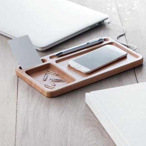 Chargeur sans fil personnalisable Cleandesk
