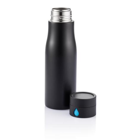 Bouteille inox personnalisée suivi d'hydratation 650 ml