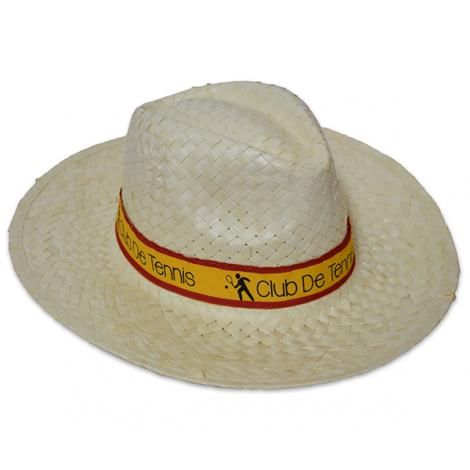Chapeau de paille publicitaire - BASSIC