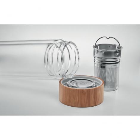 Bouteille double paroi personnalisable - Batumi Glass
