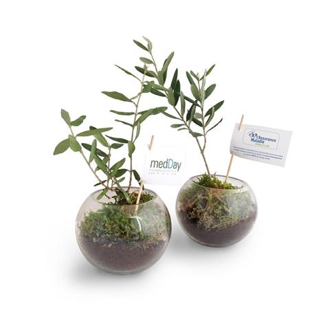Globe publicitaire arbre prestige