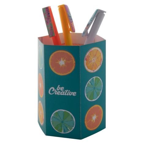 Pot à stylos publicitaire - HOLTY