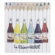Set personnalisé de 4, 6 ou 12 crayons de couleur 8.7 cm