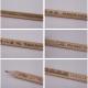 Crayon publicitaire Prestige naturel avec gravure - sans vernis