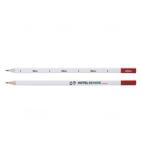 Crayon publicitaire carré Collection 42 km - Borne