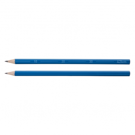 Crayon rond personnalisable Collection 42 km - Marathon